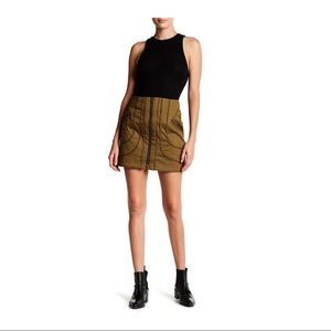 NWT Veronica Beard Linda Summer Cargo Skirt
